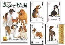 Dogs of the World Lot de 52 cartes à jouer + Jokers ( HPC )