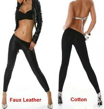 HOT Sexy Summer Fashion Trouser Wet Look Faux Leather Pants Leggings Jegging T15