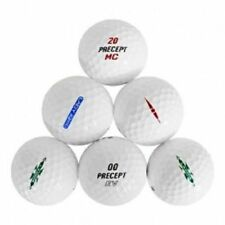 10 Dozen - 120 Precept Mix Near Mint / AAAAA Recycled Used Golf Balls