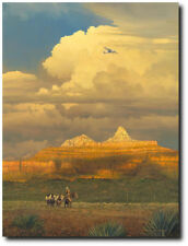 New Sounds In An Ancient Canyon by William S. Phillips - Ford Trimotor - Canvas