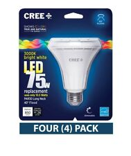 Four (4) Cree LED PAR30 BR30 75W Replacement Flood Dimmable  3000k Light Bulbs
