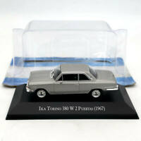 IXO 1/43 IKA Torino 380 W 2 Puertas 1967 Silver Diecast Models Limited Edition