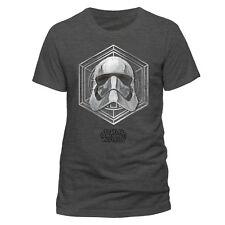 Official Star Wars Captain Phasma Badge T-shirt Stormtrooper Galactic Empire NEW