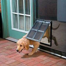 """Pet Doors - Dog Door for Screen Door Sliding Dogs Door with 12""""W x 16""""H"""