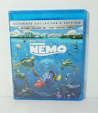 Finding Nemo 3D Blu-ray & Blu ray & Dvd & Digital Copy 5 Disc Setno Slip Cover