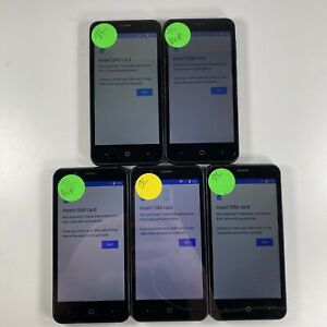 Lot of 9 Google Locked ZTE ZFive G Z557BL Tracfone *Check IMEI*