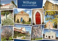 L5492cgt Australia SA Willunga Historic Buildings Multiview postcard