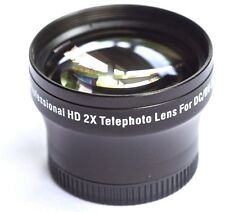 TELEPHOTO PRO HD 2x LENS FOR SONY HDR-CX160 HDR-CX130