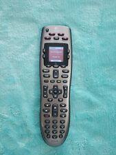 Logitech Harmony 650 Universal Remote Control Silver - Color Screen Euc