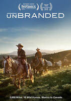 Unbranded (DVD 2015) Documentary Adventure Cowboys Horses RARE FastFreeShip🚀NEW