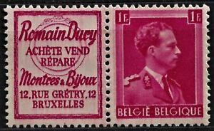 1941 Belgium - with an advertisement, MI- R57