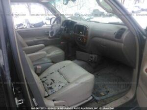 "2001 TOYOTA TUNDRA ""complete set seats"" leather Gray--Free ship"