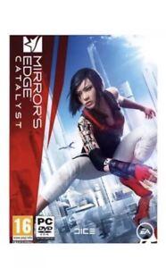 MIRROR'S EDGE CATALYST (PC DVD) Brand New Sealed U.K. Pal Game.
