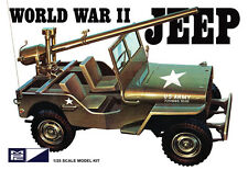 MPC - WORLD WAR II MILIATARY JEEP PLASTIC MODEL KIT [MPC785] - GALAXY RC