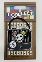 Disney The Nightmare Before Christmas Pin Limited Edition I Collect Jack Bag