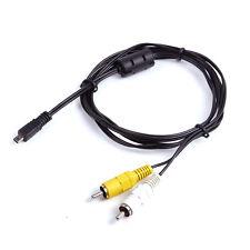 AV A/V Audio Video TV Cable Cord Lead For Kodak EasyShare Camera Z612 Z1012 IS
