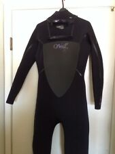 O'Neill Women Dlux 5/4mm Winter Surfing Wetsuit Size 12