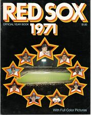 1971 Boston Red Sox Yearbook NEAR MINT MINUS