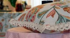 4 x New Crayon-printed style Canvas Cushion Covers Decor