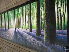original180cm Large  forest Trees Landscape Australia painting canvas  By Jane