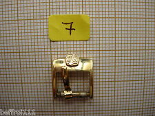 Boucle p. or bracelet montre xem Ulysse Nardin,ancienne 觀看 80s 10 mm N°7