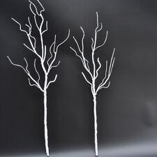 Árbol blanco rama seca de alta gama Planta Artificial Decoración para Boda Hogar Jardín
