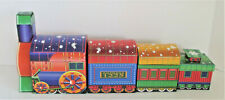 Lindy Bowman Nesting Train Boxes Five Pieces