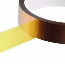 20mm x 30 m Polyimide Hitzebeständiges Klebeband Tape,Kapton 3D Drucker Makerbot