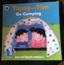 Topsy and Tim: Go Camping by Jean Adamson (English) Ladybird