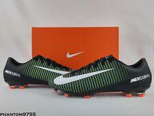 Nike Mercurial Veloce III FG Soccer Cleats Black White Electric Green 847756-013