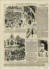 1892 7 Million Bottles Of Port On Sale Wool Exchange Captain Owen Lancashire Fus