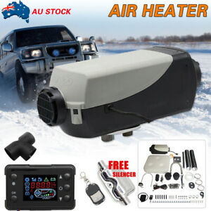 5KW 12V Air Diesel Heater Tank Vent, Duct, Thermostat Caravan Motorhome Remote
