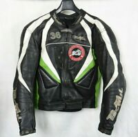 Men's Armoured Tschul Motorcycle Racing Sports Leather Jacket M 42R