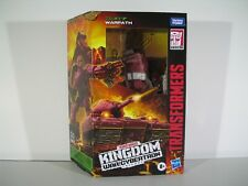 Transformers War for Cybertron Kingdom Deluxe Class Warpath Action Figure