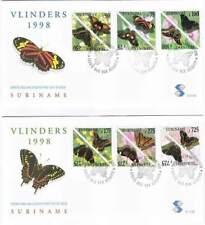 Suriname republiek 1998 FDC E213A+B onbeschreven open klep