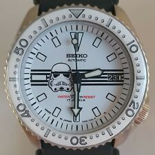 Seiko 7002-700A Vintage Divers Stormtrooper Automatic Watch Mod #259