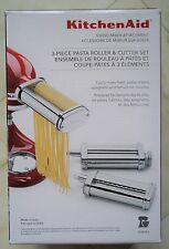 KITCHENAID KPRA 3-PIECE ATTACHMENT SET PASTA ROLLER, MAKER & CUTTER $199
