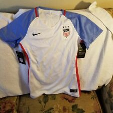 USA SOCCER JERSEY - WOMENS EXTRA SMALL - NIKE DRI-FIT - NWT