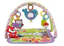 Fisher Price Waldfreunde 3-in-1 Spieldecke Mehrfarbig Babyspielzeug NEU