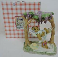 2003 CHERISHED TEDDIES SOPHIE IN TREE HAMMOCK MEMBERS ONLY FIGURINE CT0033