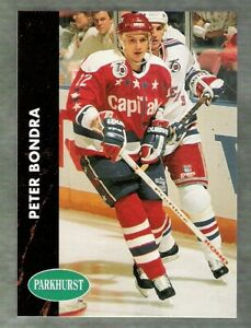 1991-92 PARKHURST WASHINGTON CAPITALS SERIES 1 TEAM SET!!  10 DIFFERENT CARDS!