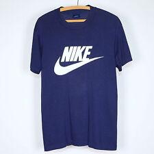 Nike Shirt Vintage tshirt 1980s Just Do It Nike Swoosh Blue Tag Sports tee 80s