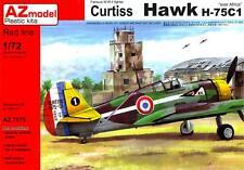 AZ Models 1/72 CURTISS HAWK H-75C-1 Fighter Over Africa