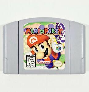 Nintendo 64 Cartridge MARIO PARTY Genuine US Version Multiplayer/Minigames