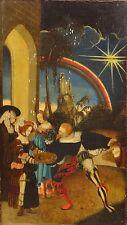 16th Century German Old Master Salome Head John Baptist Oil Lucas CRANACH