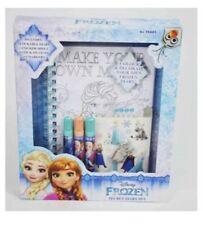 Disney Frozen Lockable Secret Diary GIRLS Diary Note books Princess for Gift
