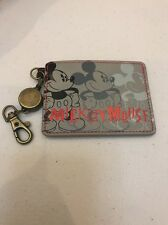 Disney Store Japan: Mickey Mouse Id Card / Credit Card Holder (D4)