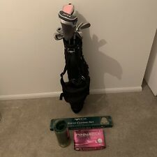 Skymax Ice Ix-5 Ladies Golf Clubs, Bag, Balls, Pop Up Net, Practice Mat Bundle