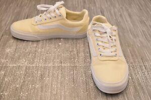 VANS Ward Deluxe Sneaker, Women's Size 8M, Beige NEW