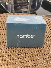 """Nambe Crystal """"BOW"""" Candlestick Candleholder NEW in BOX"""